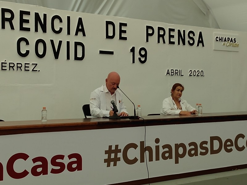 Suman 19 casos por Covid-19 en Chiapas