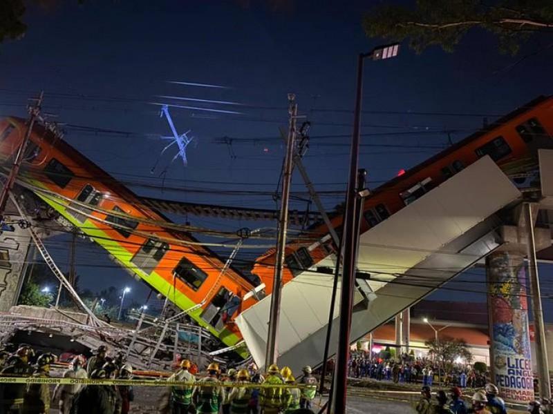 Suman 26 muertos por accidente en el metro