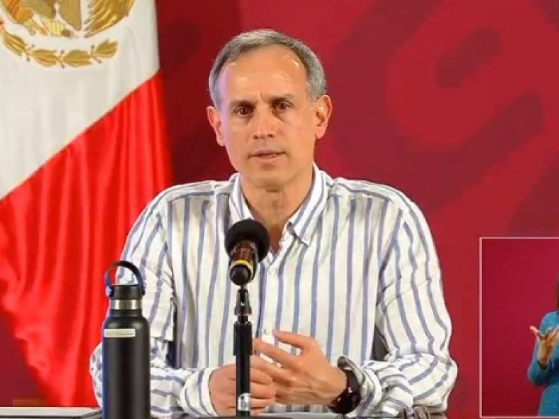 Suman 3 mil 465 decesos por Covid-19 en México