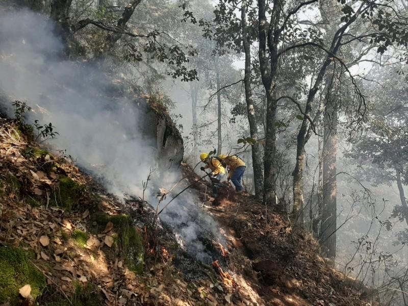 Suman 7 los incendios activos en Puebla