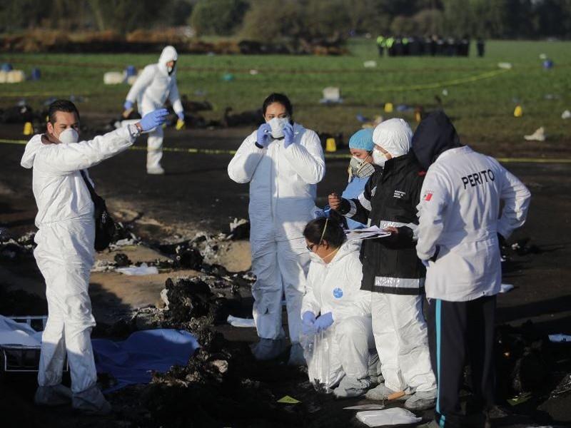 Suman 91 los muertos por explosión en Tlahuelilpan