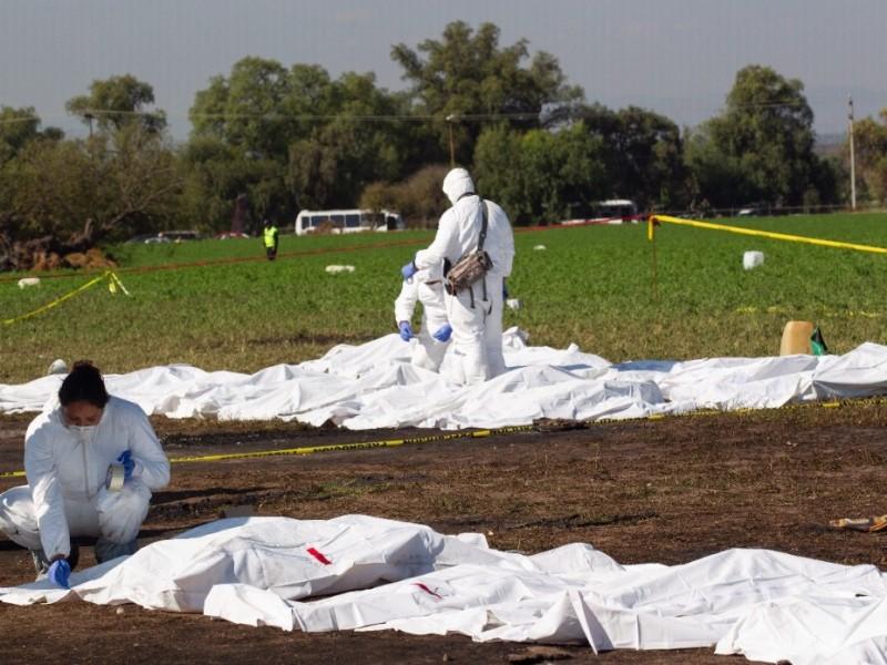 Suman 96 muertos por explosión en Hidalgo