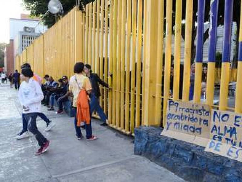 Suman nueve planteles de la UNAM en paro