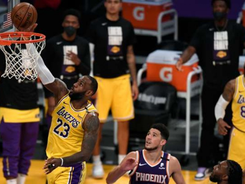 Suns elimina a los campeones Lakers