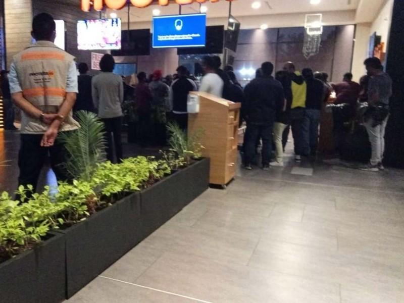 Super Bowl provoca aglomeraciones en restaurantes de la Cdmx