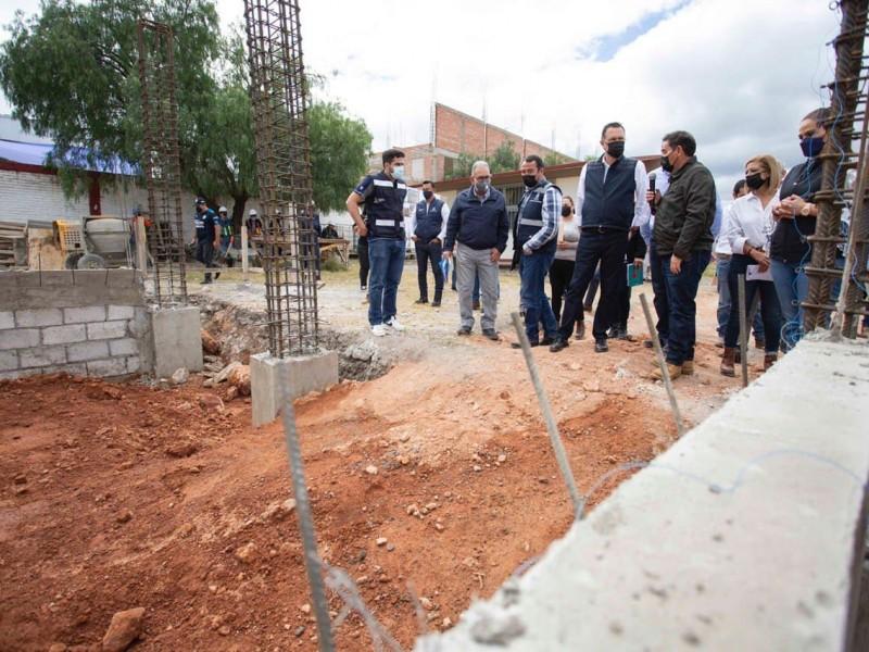 Supervisa Gobernador obras por 62mdp en San Juan del Río