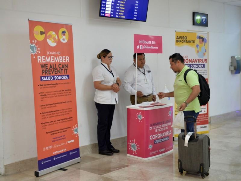 Supervisan módulos de revisión en aeropuerto