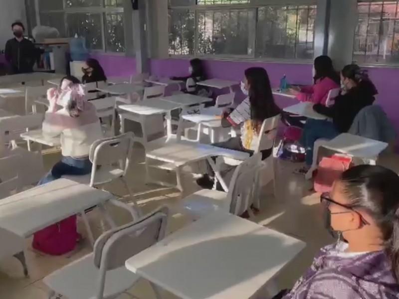 Supervisan protocolos de prevención en escuelas