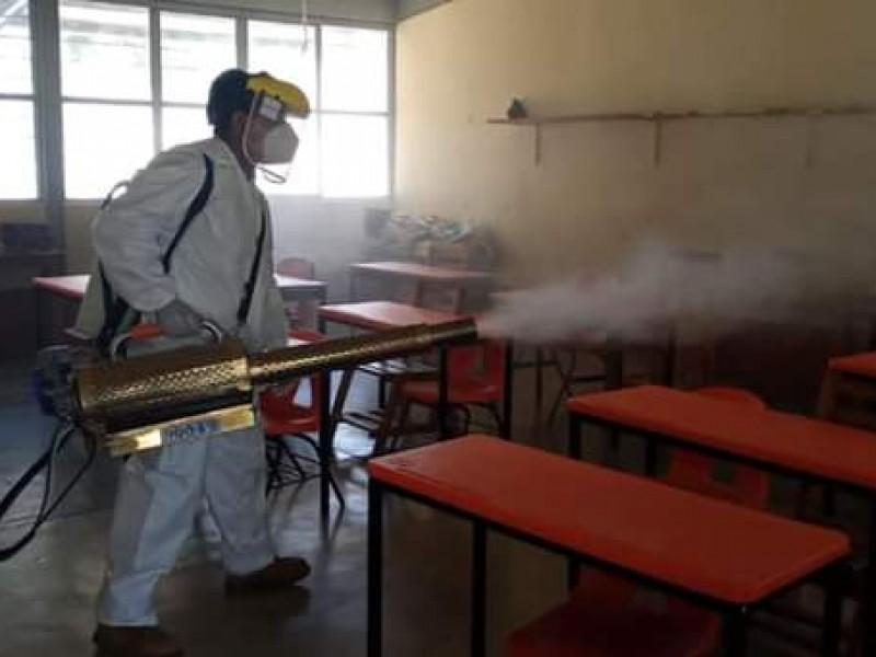 Supervisión escolar 132 descarta clases presenciales en San Blas Atempa