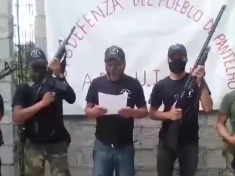Surge grupo de autodefensa de Pantelhó