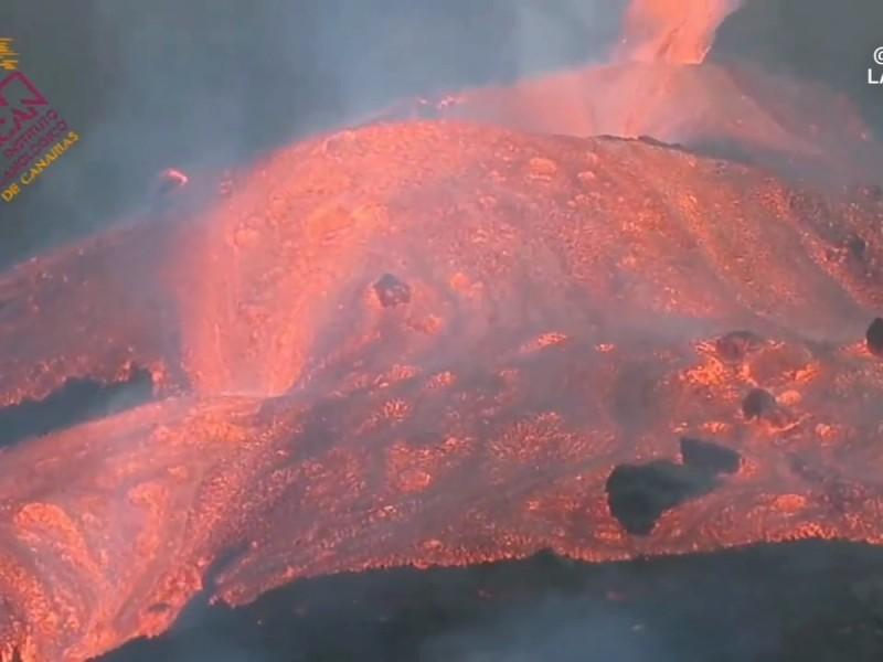 Surge nueva boca volcánica en el Cumbre Vieja