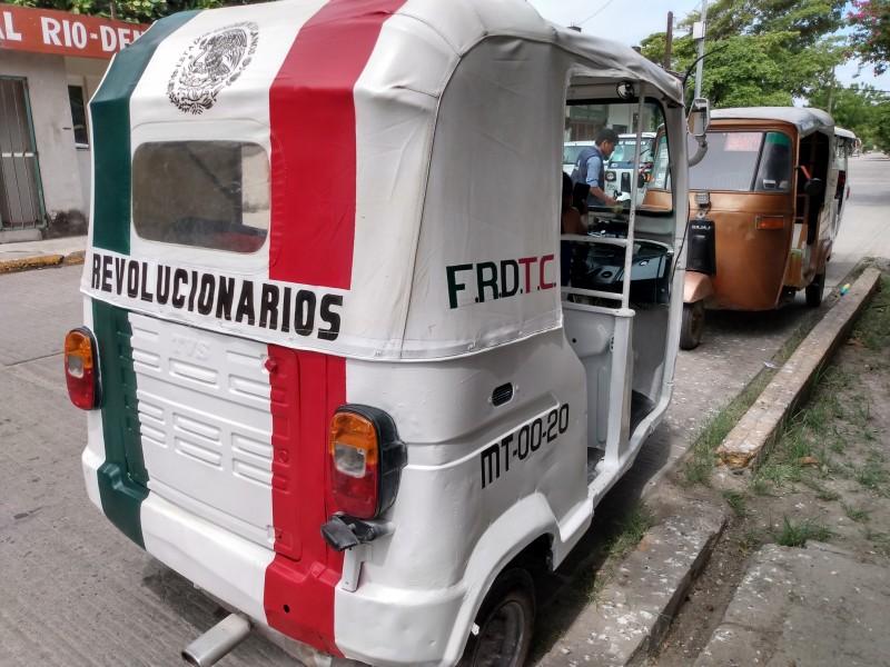 Surge nueva organización de Mototaxis en Juchitán