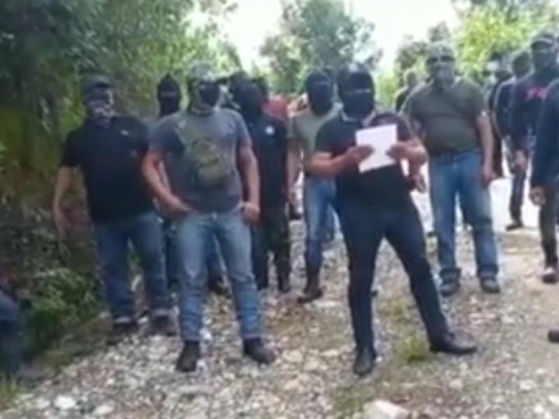 Surge nuevo grupo paramilitar en Chenalhó