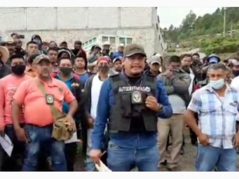 Surgen autodefensas en la zona serrana de Orizaba