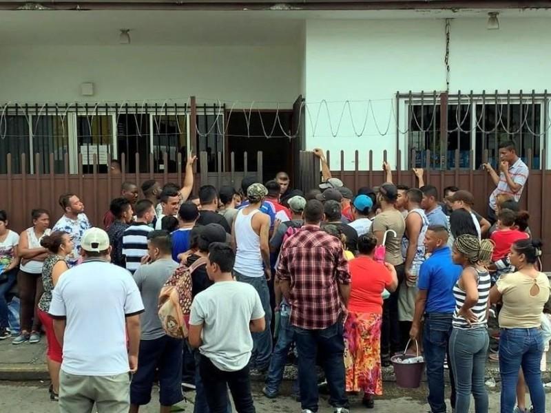 Suspende COMAR actividades en Tapachula