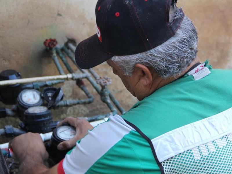 Suspenden cortes y limitaciones de agua por 60 días