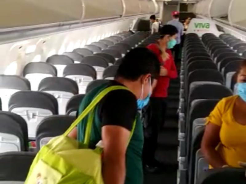 Suspende operaciones aeropuerto de Palenque y el resto vigila COVID-19