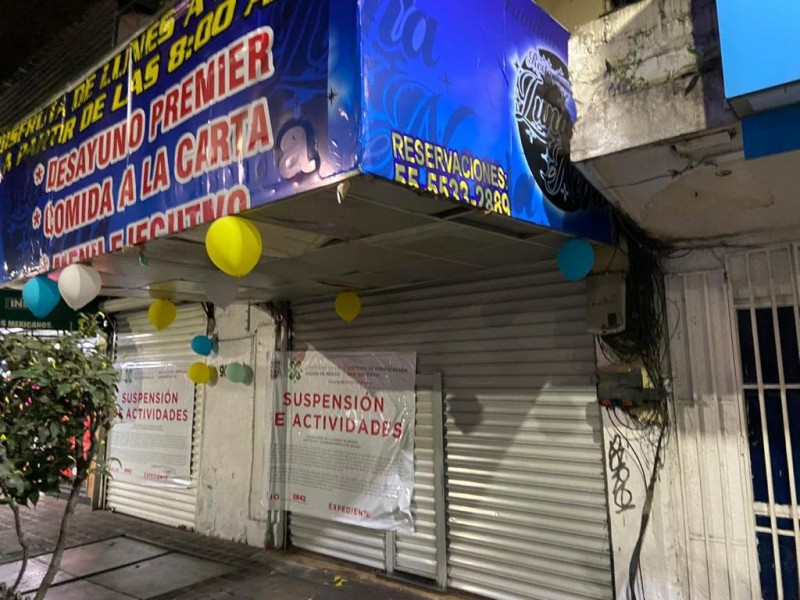 Suspenden 9 bares por no respetar medidas