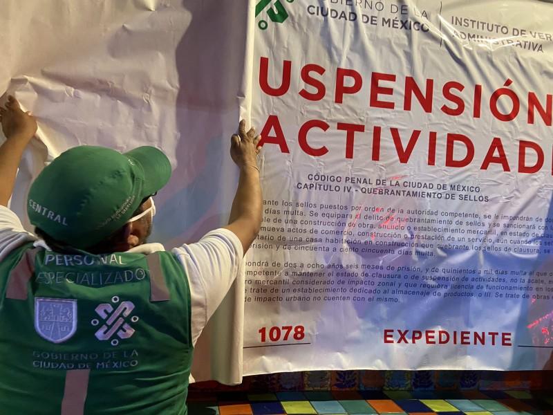 Suspenden actividades en siete restaurantes por incumplir medidas sanitarias