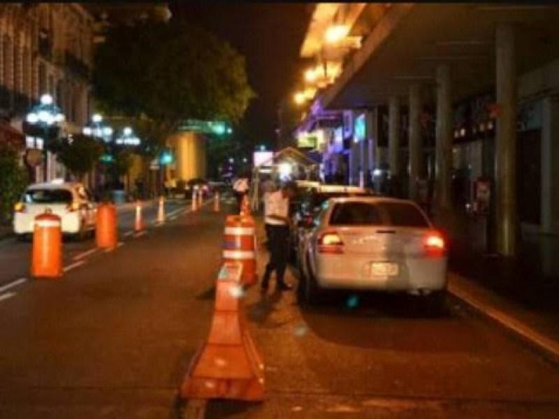 Suspenden alcoholímetro en Xalapa por contingencia sanitaria