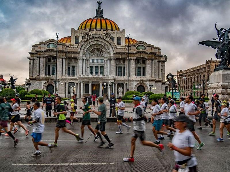 Suspenden Ciclotón por Maratón en CDMX