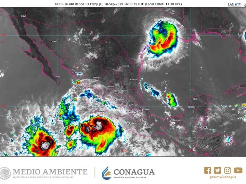 Suspenden clases en BADEBA por tormenta tropical Lorena