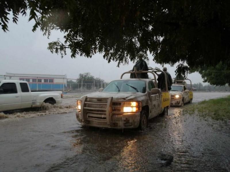 Suspenden clases en BCS por fuertes lluvias