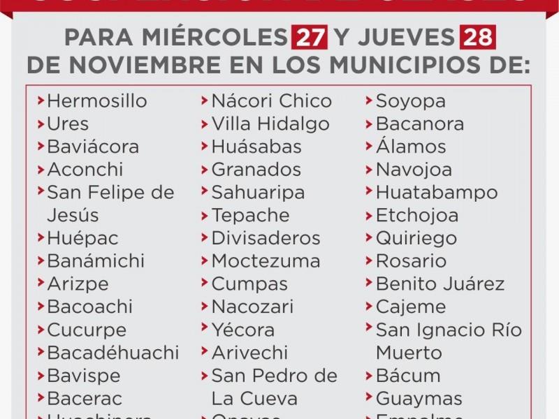Suspenden clases en Sonora por bajas temperaturas