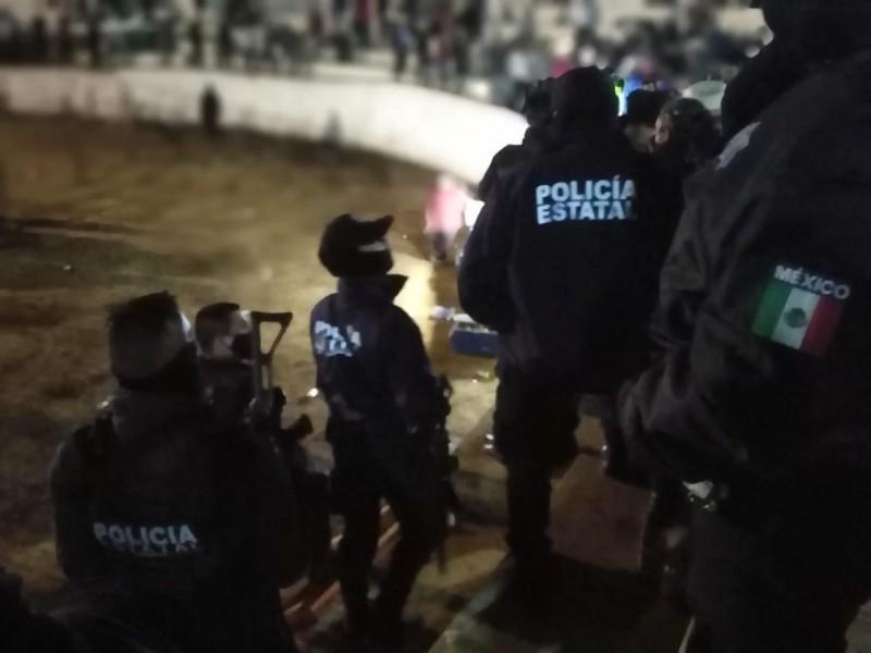 Suspende Guardia Nacional y Policía Municipal jaripeo en Pochotitan