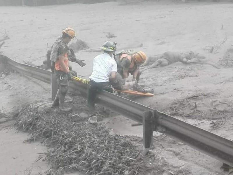 Suspenden labores de rescate en Guatemala
