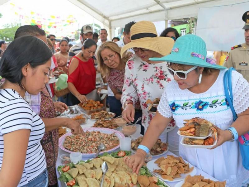 Suspenden muestra gastronómica en Tuxpan ante Decreto Estatal