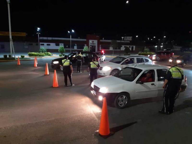 Suspenden puntos de revisión de sobriedad en Gómez Palacio