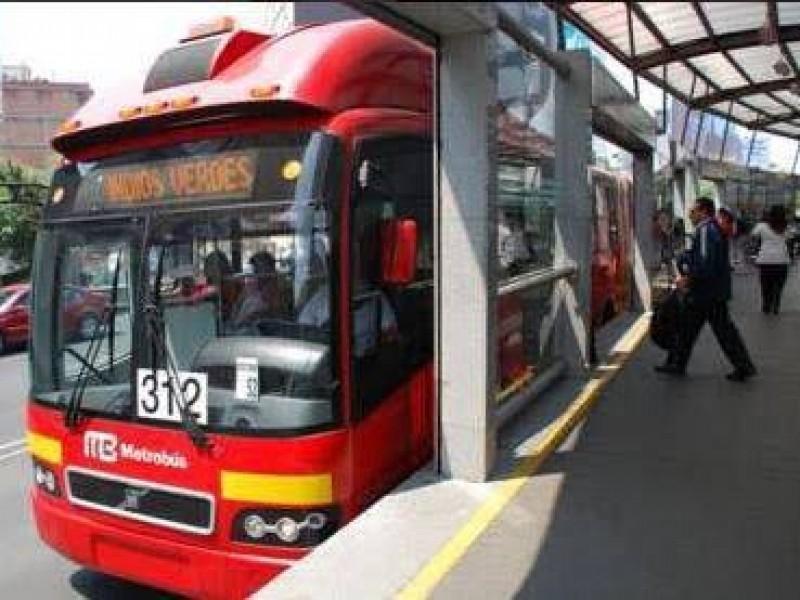 Suspenden servicio en Línea 7 del Metrobús