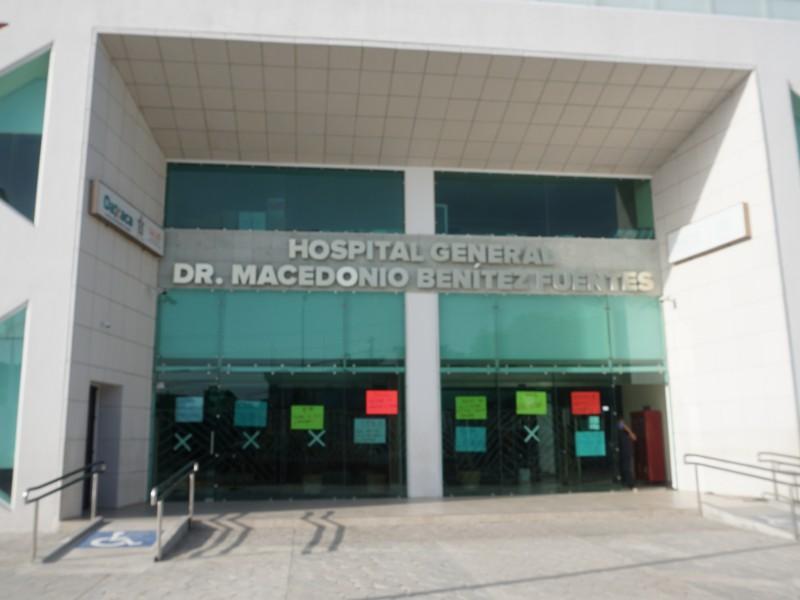Suspenden servicios en el Hospital General MBF de Juchitán
