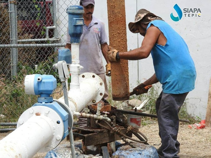 Cuatro colonias no tendrán agua por mantenimiento en pozo