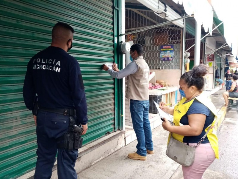 Suspendidos 180 establecimientos de 26 municipios por incumplir las normas sanitarias