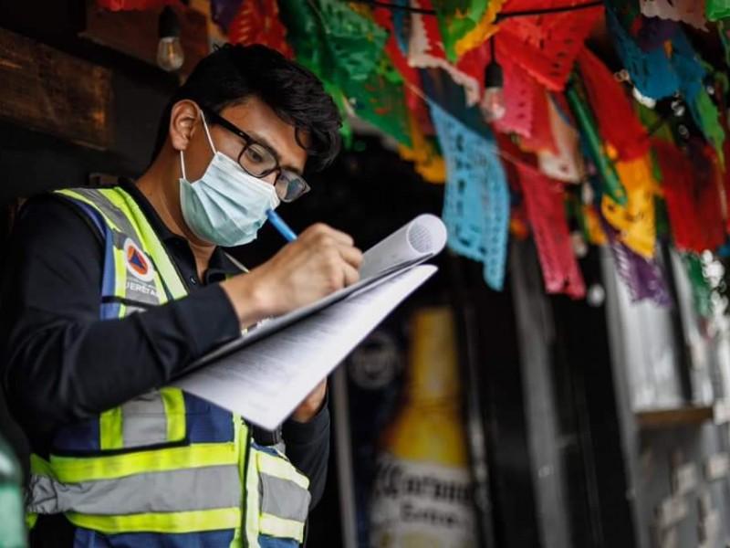 Suspendidos 3 establecimientos en Mompaní