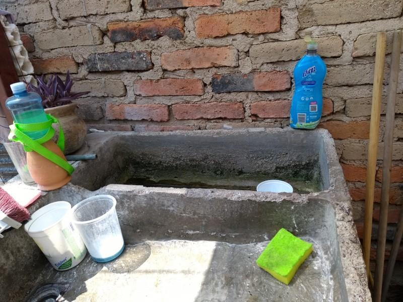 Suspensión de agua en 9 colonias de Gdl