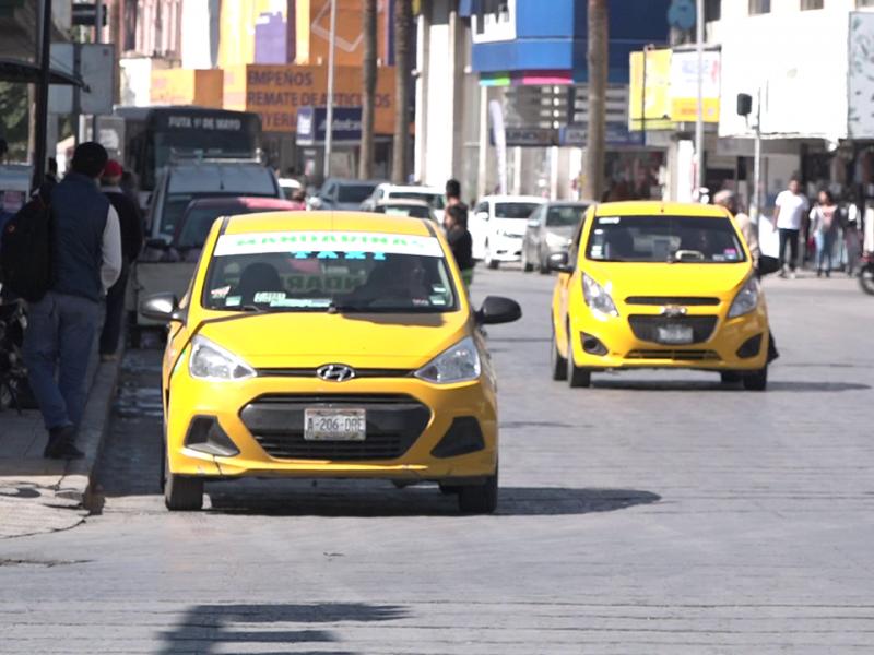 Suspensión de clases y bares impide reactivación de gremio taxista