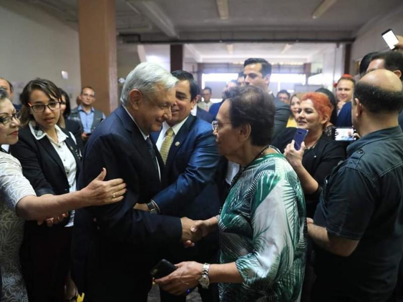 SUTSEM pide intervención de AMLO ante adeudos