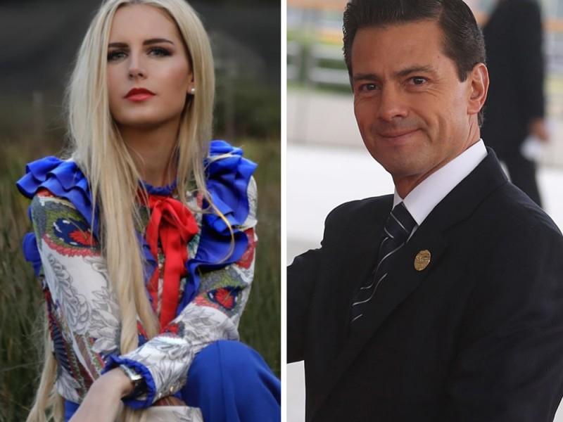 Tania Ruiz, novia de Peña Nieto da positivo a Covid