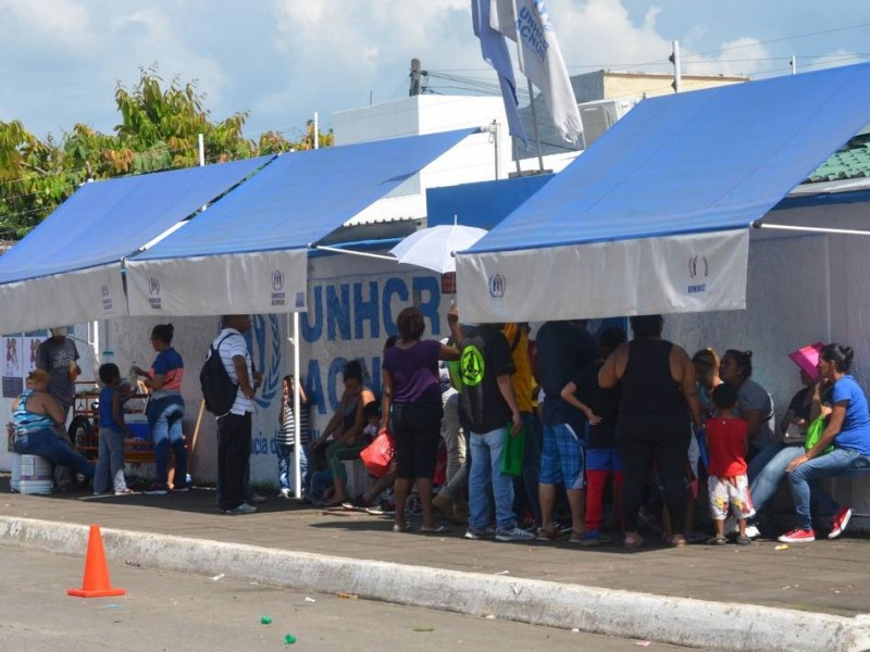 Tapachula registra mayoría de solicitudes de refugio en México