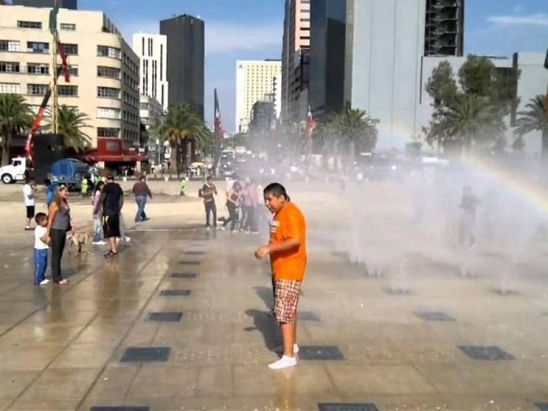 Tarde calurosa en el Valle de México