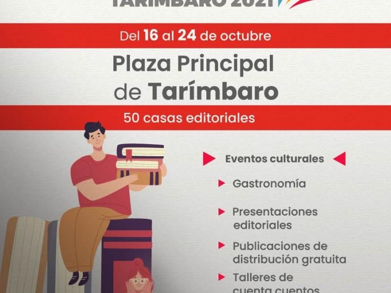 Tarímbaro: realizarán primera edición de la Feria Metropolitana del Libro