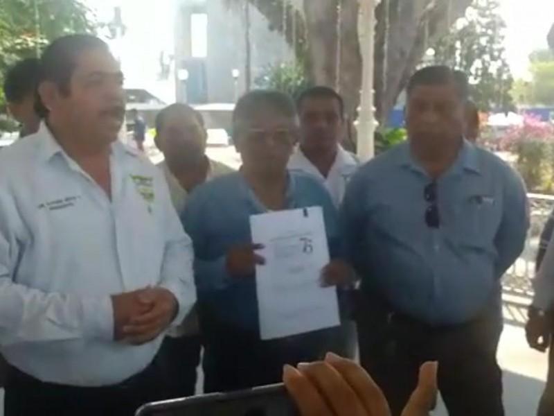 Taxistas afectados por la contingencia del Covid-19, Tuxtepec