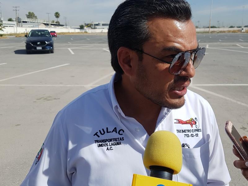 Taxistas de Torreón se unirán a paro nacional