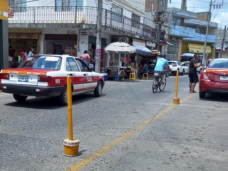 Taxistas de Tuxpan se dicen agobiados por precio de gasolina