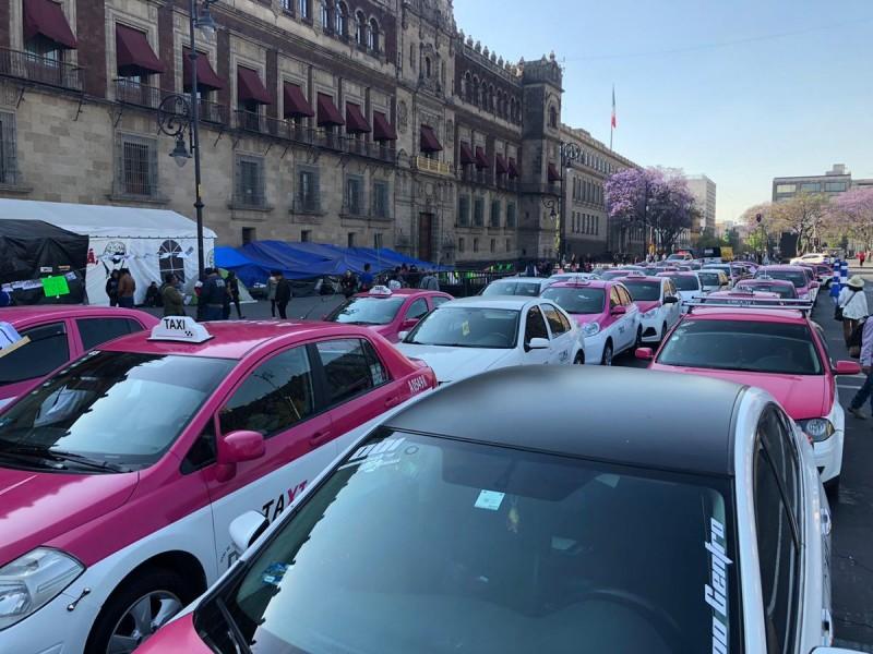 Taxistas desquiciarán la ciudad, anuncian paro