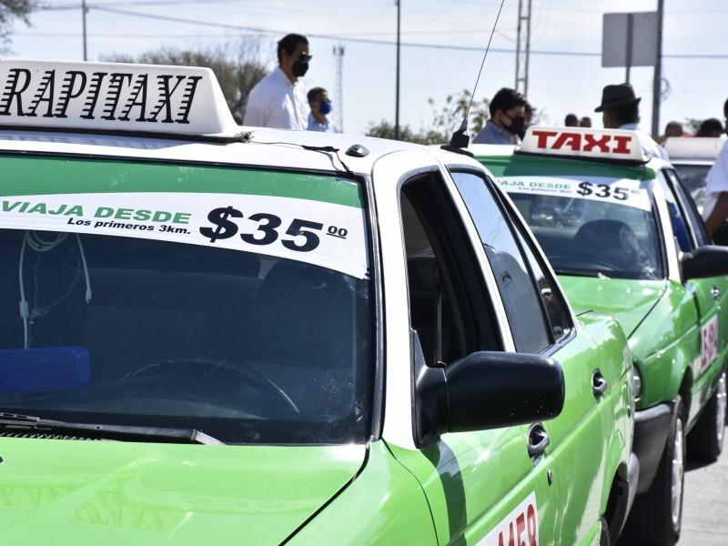 Taxistas enfrentan inseguridad y asaltos