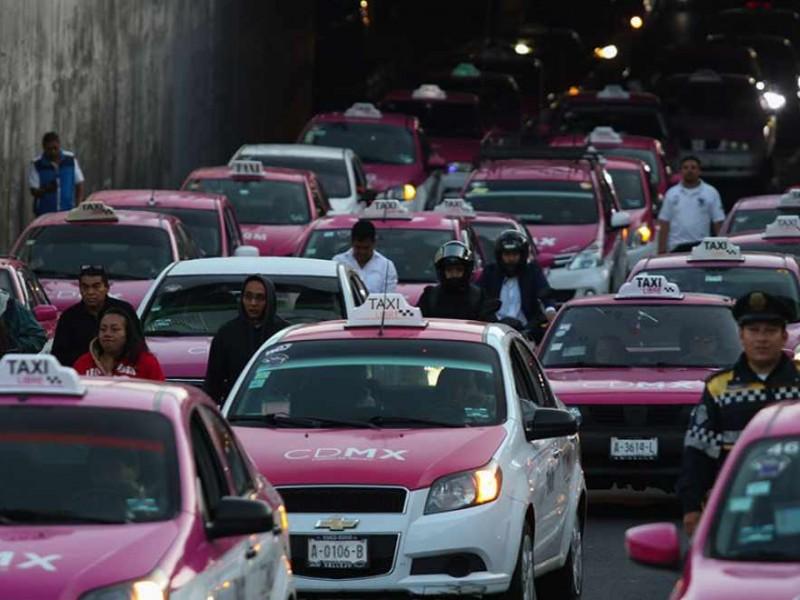 Taxistas logran negociación; No realizarán más bloqueos